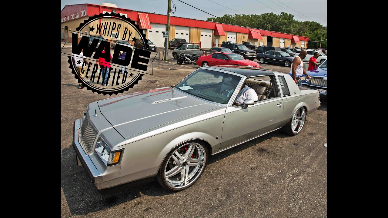 "Stunna Jam 2k15 : Silver Buick T-Type on 22"" Staggered ..."