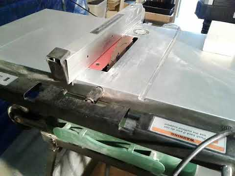 Hitachi C10fr Tablesaw Review