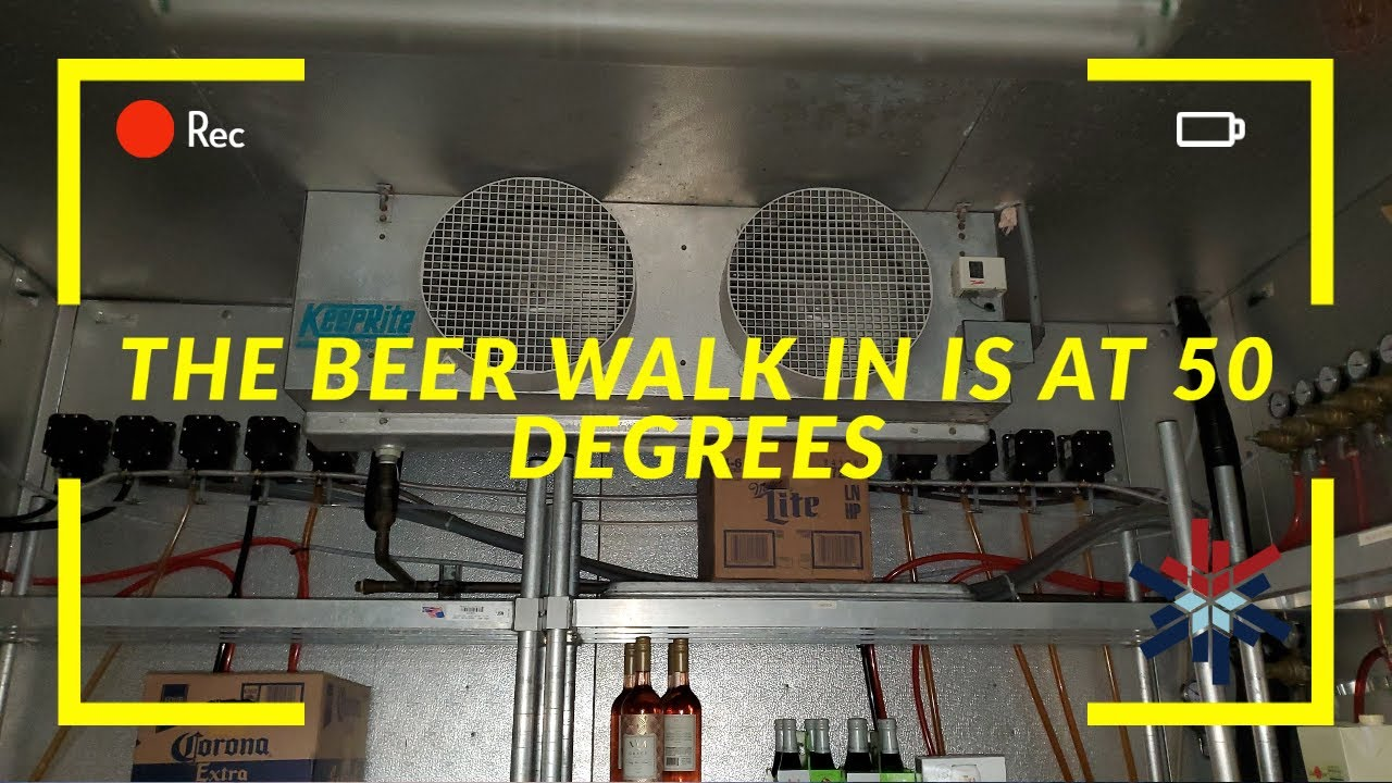 BEER WALK IN AT 50 DEGREES