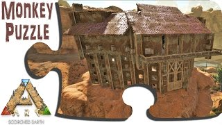 ARK Scorched Earth Ep 7 -  Building the Builders' Quarters for the Central Base Complex