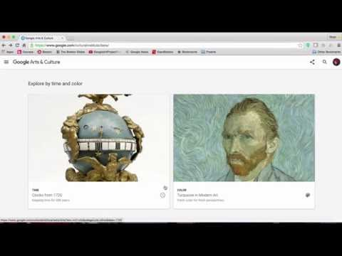 Google Arts and Culture Tutorial