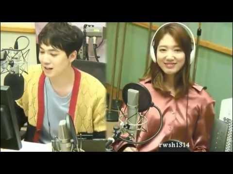 161017 박신혜 Park Shin Hye dance Cheer Up sing by Lee Hongki  이홍기