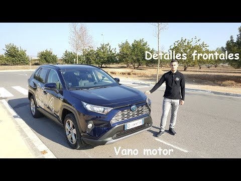 Toyota RAV4 Hybrid 2019 Advance Plus: Vano motor y detalles frontales | Review | Español