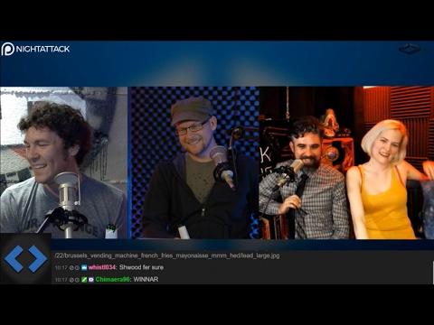 Night Attack #156: Justin or Brian (w/ MikeTV and Ashley Paramore)