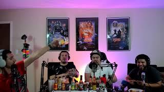 SNP Podcast ep 13. Hot ones Challenge