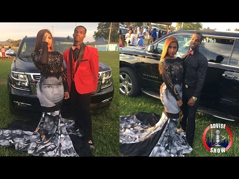 Florida Teen Wears A Custom Black Lives Matter Prom Dress