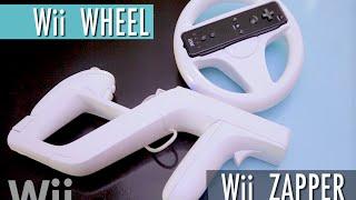 Wii Wheel  y Wii Zapper  ¿Accesorios acertados o irrelevantes?