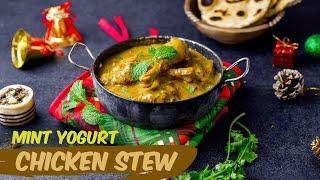 Delicious Mint, Coriander &amp Cumin Kuku Kienyeji Stew