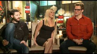 Reese Witherspoon, Chris Pine and Tom Hardy Interview for THIS MEANS WAR
