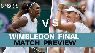 Match Point: Serena Williams vs Simona Halep 2019 Final | #Wimbledon