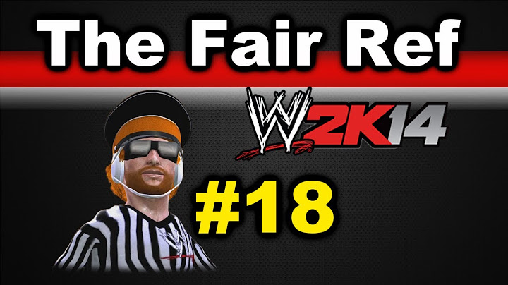wwe 2k14 the fair ref ep 18 hell in a cell