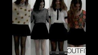 Como combinar una falda circular