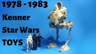 star wars toy collection 1977 by kenner