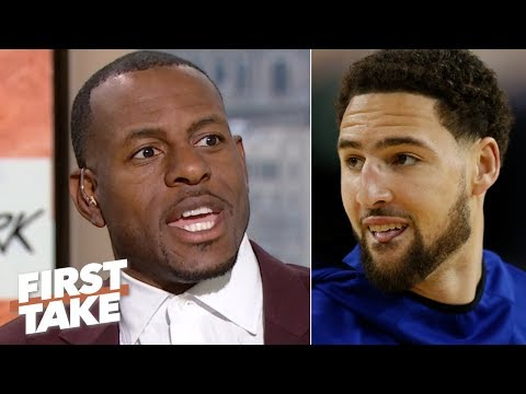 Andre Iguodala reveals Klay Thompson's favorite moment on the court | First Take