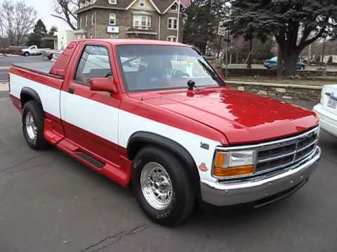 1992 dodge dakota hot rod for sale 2 717 miles like new garage kept. Black Bedroom Furniture Sets. Home Design Ideas