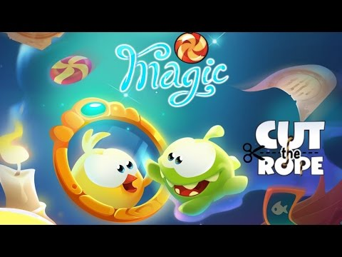 Cut the Rope: Magic - Lets Play #1 #2 #3
