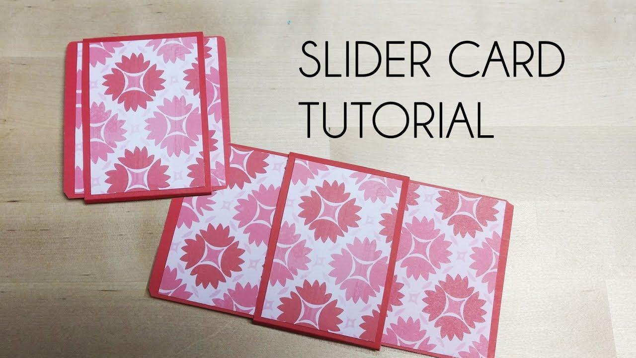 Free printable white christmas double slider card template.