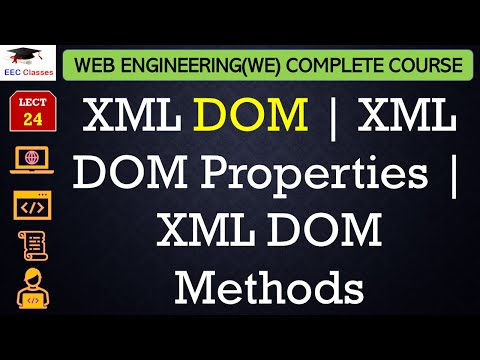XML DOM | XML DOM Properties | XML DOM Methods in Hindi