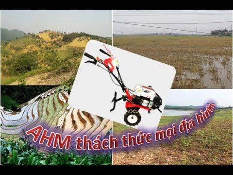 2 thần nông thách thức  máy nông nghiệp AHM