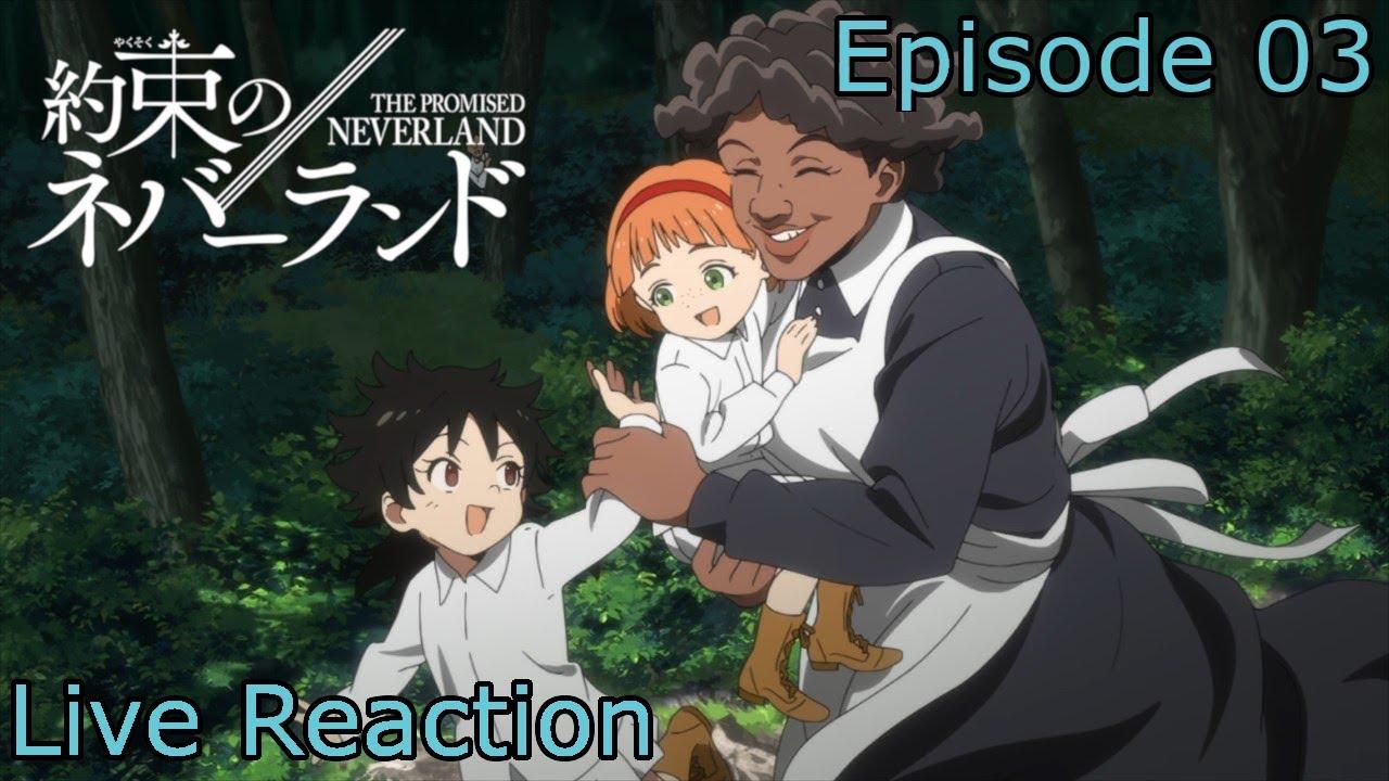 [Reaction+Commentary] Yakusoku no Neverland Episode 3