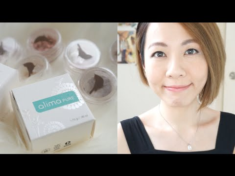 天然礦物彩妝 Mineral Makeup Alima Pure | 高比 Gobby