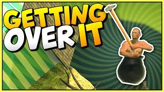 THIS IS THE MOST FRUSTRATING GAME EVER - Getting Over It with Bennet Foddy Gameplay