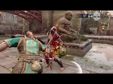 For Honor all base executions on gladiatrix