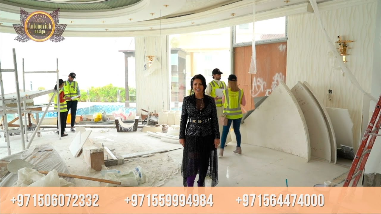 Luxury Fit-out of Implemented Villa by Luxury Antonovich Design, Dubai!