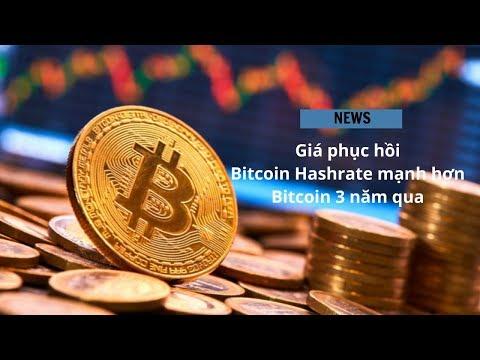 #383 - Giá Phục Hồi + Bitcoin Hashrate Mạnh Hơn + Bitcoin 3 Năm Qua  | Cryptocurrency