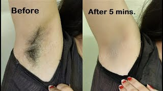 How i removed my Armpit Hair - NO WAX | SHAVE & Remove Underarms Hair at Home