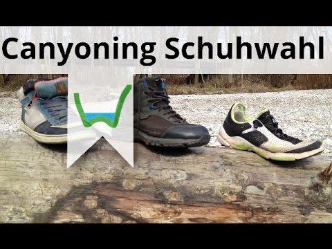 Canyoning Schuhe Test Vergleich 2019 Die besten Schuhe