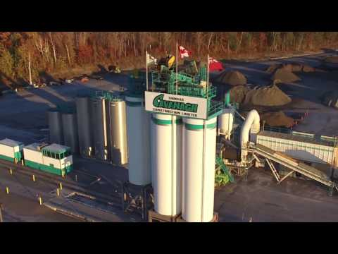 Thomas Cavanagh Construction Asphalt Plant by Front Page Media Group