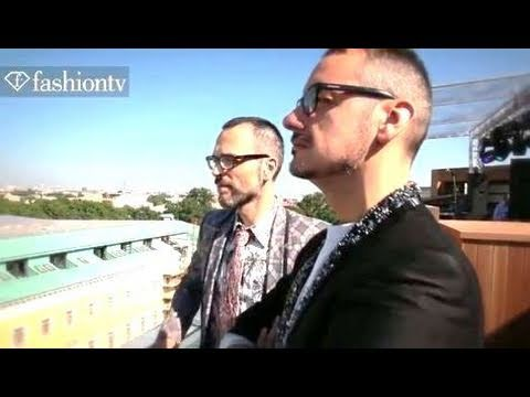Viktor & Rolf Exclusive Interview @ W Hotel St  Petersburg White Nights | FashionTV - FTV.com