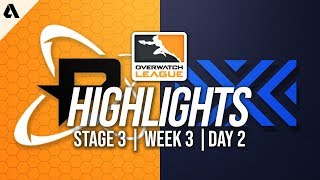 Philadelphia Fusion vs New York Excelsior | Overwatch League Highlights OWL Stage 3 Week 3 Day 2
