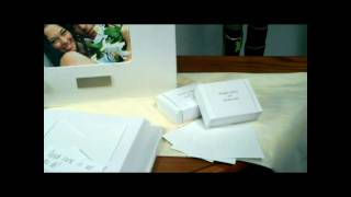 Our Feature Presentation: Wedding Wishes Envelope Guest Book