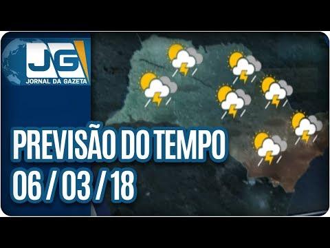 Previsão do Tempo - 06/03/2018