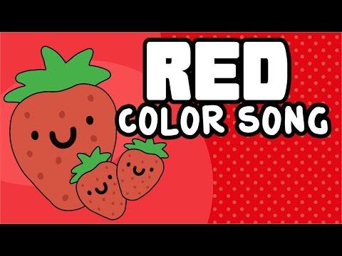 Red | Color Song | Colores en inglés | Nursery Rhymes for Children