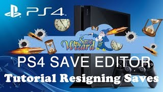 PS4 Save Wizard  Tutorial -  How to resign saves to your Profile