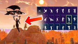 FORTNITE *SHADOW OPS* SEASON 4 SKIN SHOWCASE 50+ DANCES/EMOTES & BACK BLING! (Fortnite Dances)