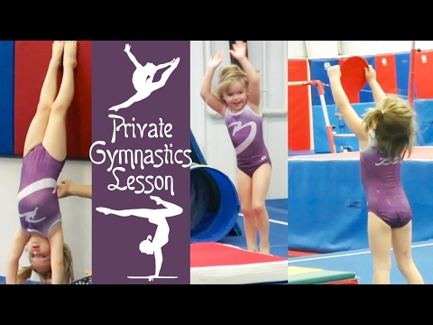 First Private Gymnastics Lesson