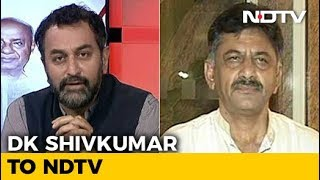 DK Shivakumar On Congress Efforts To Foil Defections In Karnataka