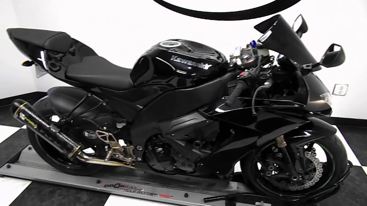 2008 Kawasaki Zx10r Black Used Motorcycle For Sale Eden Prairie