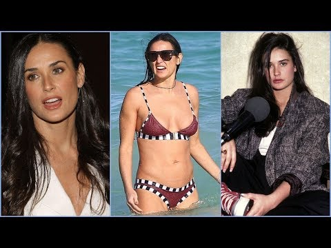 Demi Moore  Rare Photos  Lifestyle  Childhood  Family  Friends