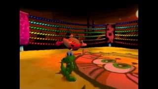 Croc Legend of the Gobbos [PSX] 100% - Level 1-B2 Fight Night with Flibby
