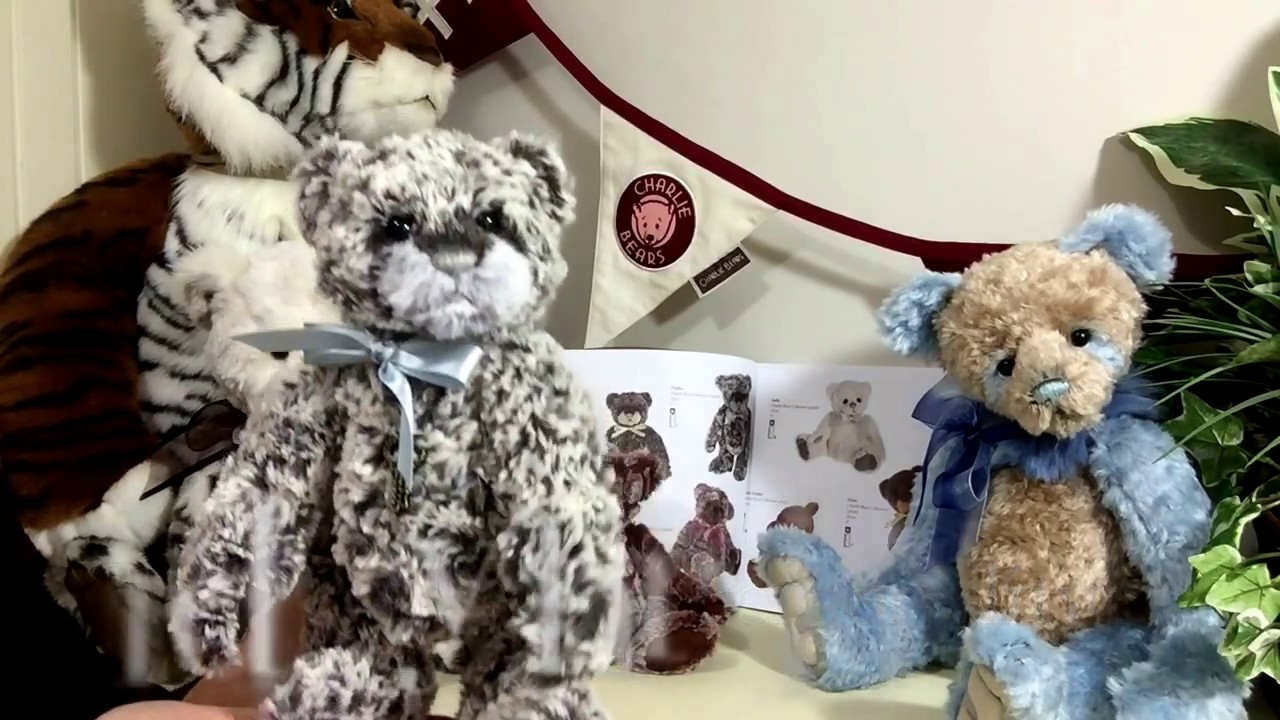 Tiddles Charlie Bears Manufactured Bears