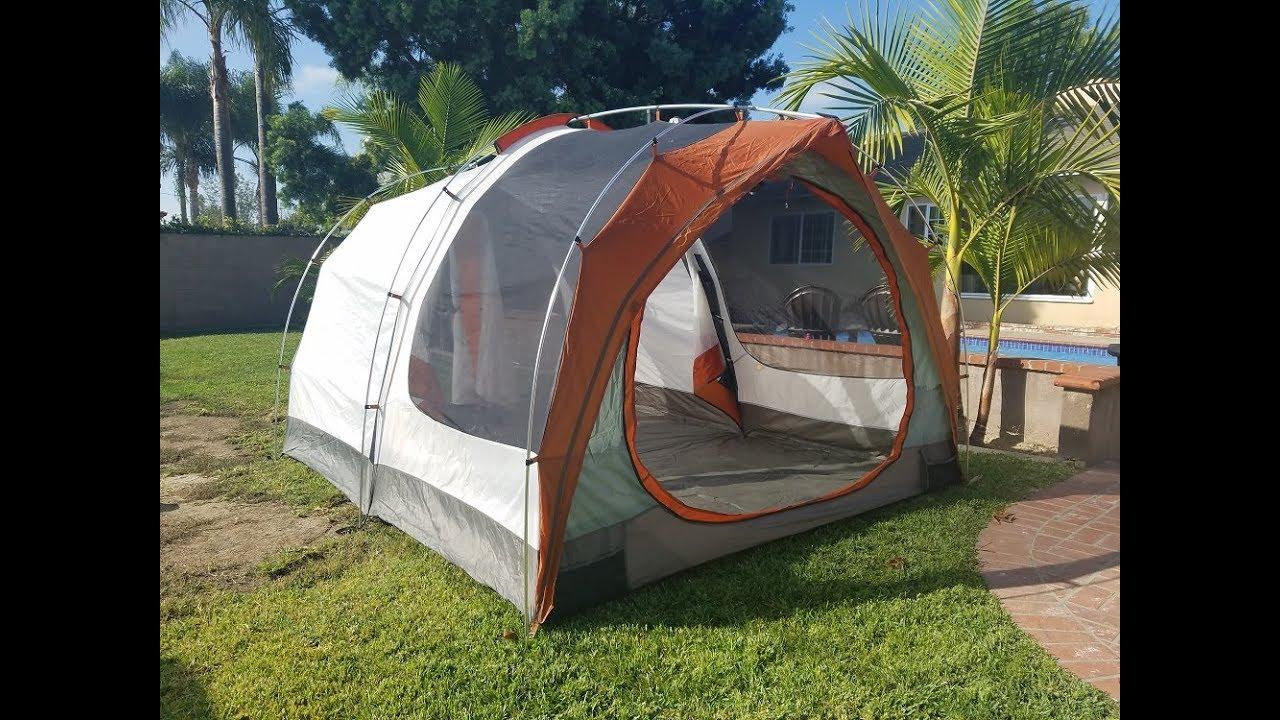 REI Kingdom 6 Tent Setup & REI Kingdom 6 Tent Setup - YouTube