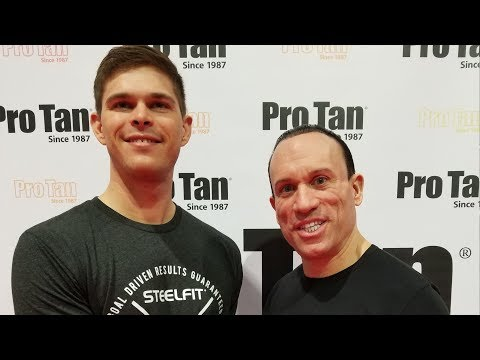 Rob Kaufman of Pro Tan at the Olympia Expo