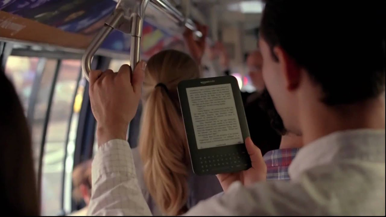 Amazon Kindle Zest Commercial (Original Version)