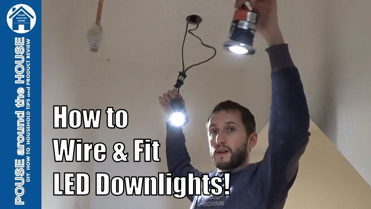 Wiring Diagram For Led Downlights Uk