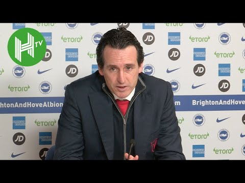 Brighton 1-1 Arsenal | Unai Emery: I do NOT regret Lacazette & Ozil substitutions